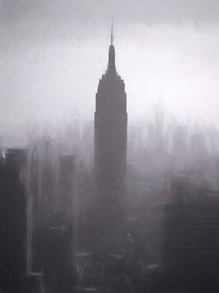 Empire State Building van Joris Pannemans - Loris Photography