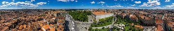Panorama van Porto van Joost Potma