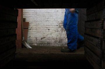 Beine des arbeitenden Mannes von Greetje Heemskerk