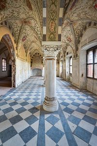 Schlosssaal mit vielen Details