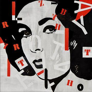 Elizabeth Taylor - Letters van Kathleen Artist Fine Art