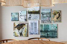 Klantfoto: Franse luiken (gezien bij vtwonen) van Carla Schenk, op canvas