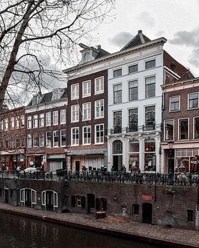 Grachtenpand in Utrecht von Kim de Been