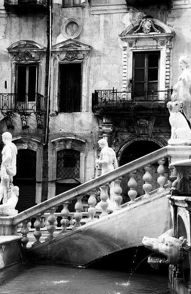 Piazza San Giuseppe, Palermo von Sven Zoeteman