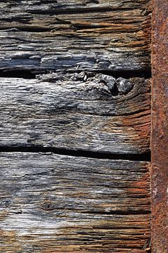Verwittertes Holz. von Christa Stroo fotografie
