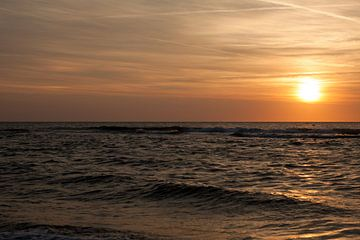 Texel Sunset von Maarten Krabbendam