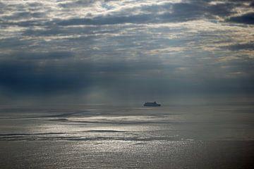 Sonnenaugang am Meer in Nordirland von Babetts Bildergalerie