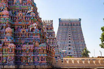 Indrukwekkend schouwspel bij de Sri Ranganatha Swamy Temple, Trichy van Martijn Mureau