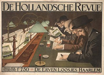 De Hollandsche Revue, Johann Georg van Caspel van Vintage Afbeeldingen