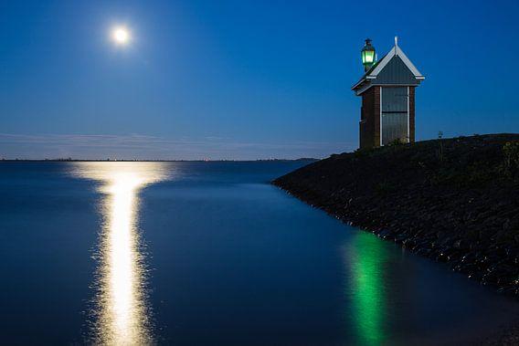 Havenlicht van Volendam van Chris Snoek