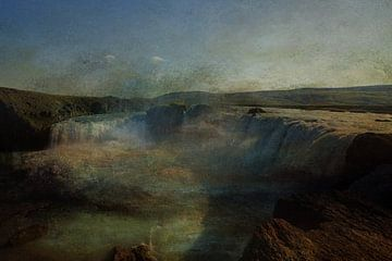 BLAUWE WATERVAL van Kelly Durieu