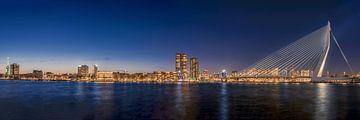 Panorama Rotterdam von Patrick Herzberg