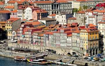 Ribeira aan de Douro, Porto van Karin Mooren