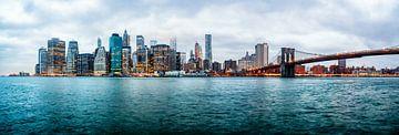 Lower Manhattan Panorama von Aad Clemens