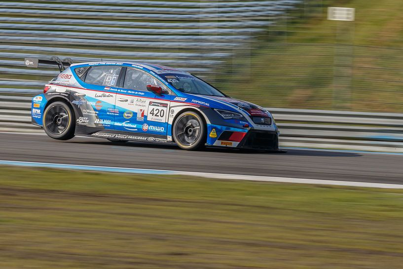 Seat Leon Cupracer van Menno Schaefer