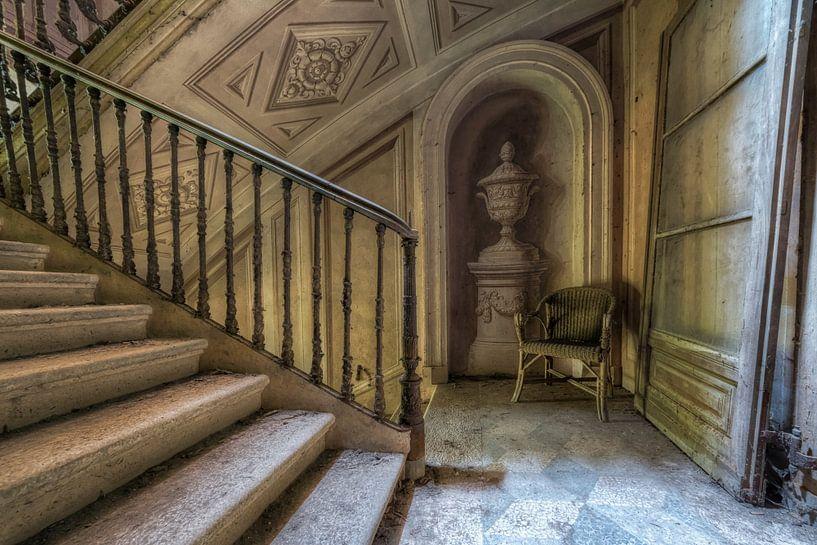 Verlassener Ort - Treppe - Lost Place von Carina Buchspies
