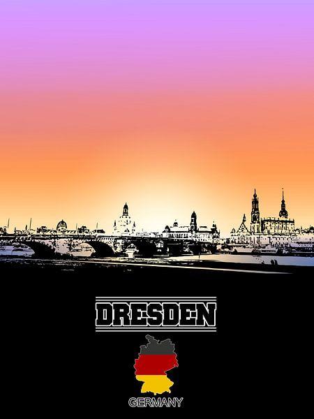 Dresden von Printed Artings