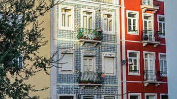 Azulejos in Lissabon, Portugal von Jessica Lokker