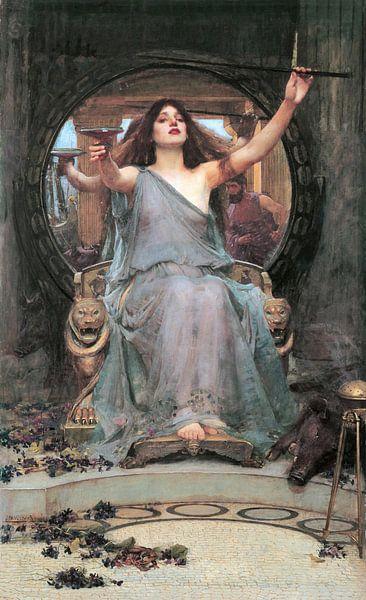 Circe, by John William Waterhouse van 1000 Schilderijen