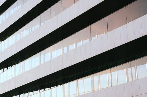 Abstract minimalisme van moderne architectuur