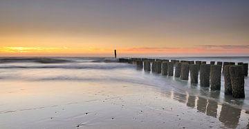 Paalhoofden Zeeuwse kust sur