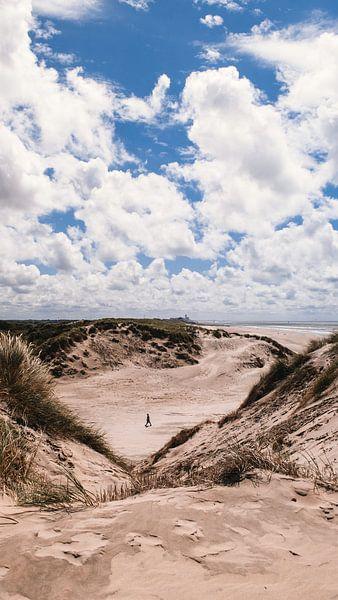 Strand & duinen, Bloemendaal aan Zee van Rob van Dongen