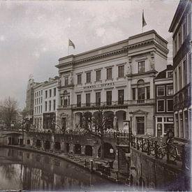 Winkel van Sinkel in zwartwit van Jan van der Knaap