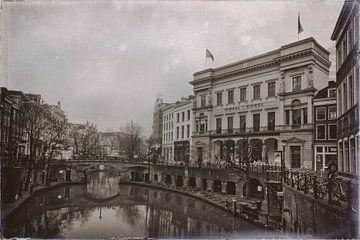 Winkel van Sinkel in Schwarzweiß von Jan van der Knaap