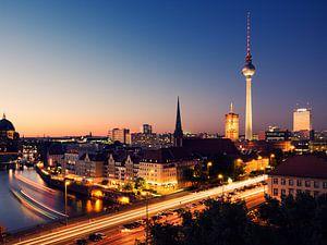 Berlin - Skyline at Night