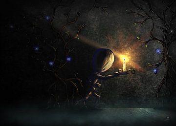 Schattenlicht - Vorwärtsbewegung von Daniel - Desmo Art