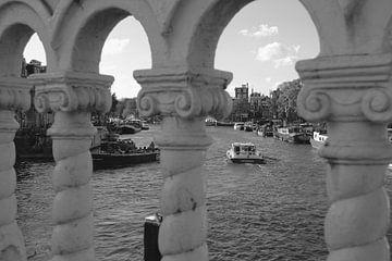 Amsterdamer Blaue Brücke von Marianna Pobedimova