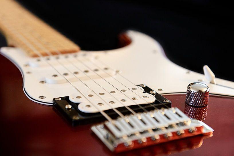 Elektrische gitaar van Maren Oude Essink