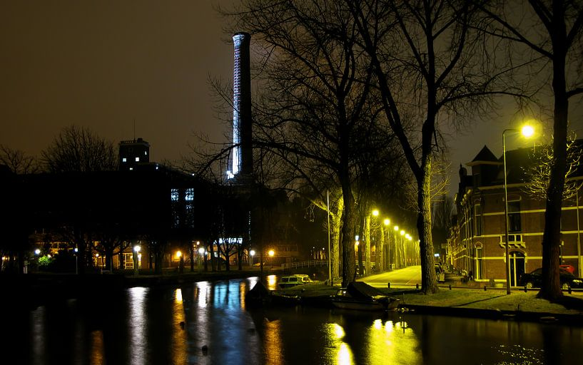 Leiden Lichtfabriek (2010) van Erik Zachte
