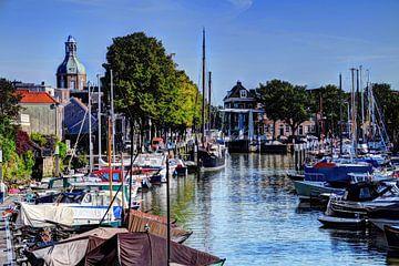 Haven van Dordrecht Nederland van Hendrik-Jan Kornelis