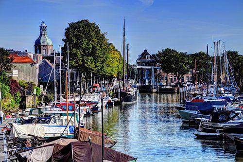 Haven van Dordrecht Nederland