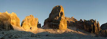 Het Brenta zonsondergangspanorama van Sean Vos