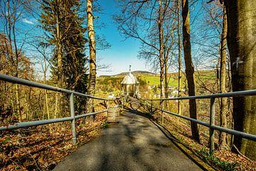 Landschaft im Erzgebirge in Annaberg Buchholz von Johnny Flash