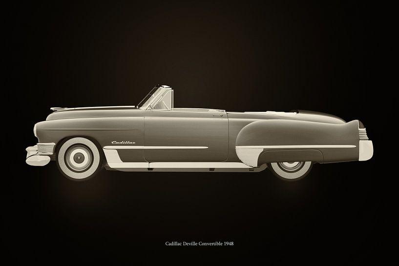 Cadillac Deville 1948 van Jan Keteleer