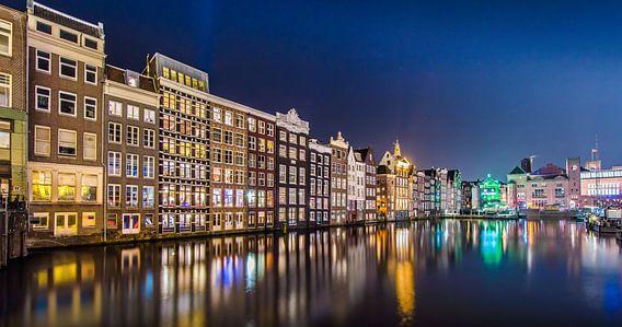 Damrak Amsterdam van Marco Faasse