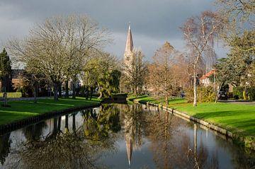 Dorpskerk Heemskerk von Yvonne van der Meij