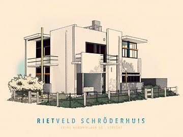 Haus Rietveld Schröder von Gilmar Pattipeilohy