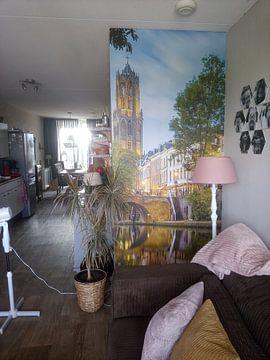 Photo de nos clients: Utrecht - Mirrored Oudegracht sur Thomas van Galen