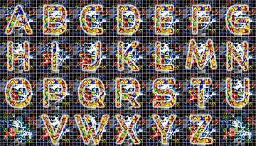 Alfabet nr.14 van Leopold Brix