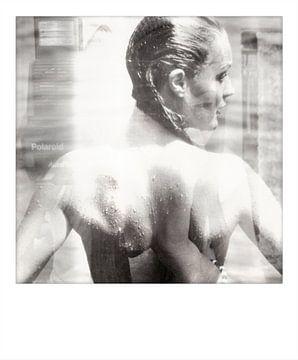 Motiv Romy Schneider - Fotomanipulation - Polaroid von Felix von Altersheim