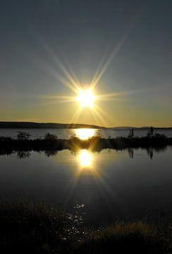 Magischer Sonnenuntergang von Jutta Klassen