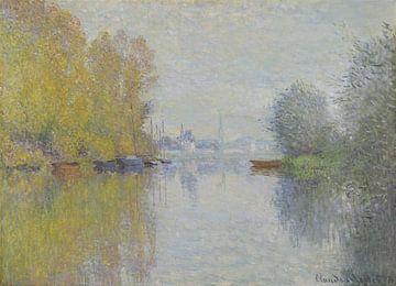Herbst an der Seine, Argenteuil, Claude Monet, Claude Monet