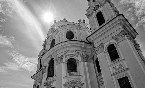 Kollegienkirche  Salzburg van Eus Driessen