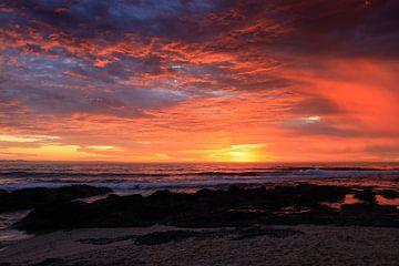 Lever de soleil dans la baie de Jeffreys sur Paul Gerard