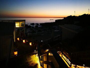 Restaurante na praia sur Marc Struik