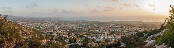 Panorama Paphos Cyprus van Whitney van Schyndel